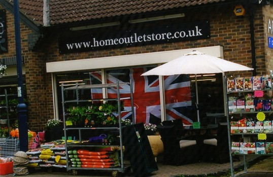Queens Jubilee Decorations June 2012 – Home Outlet Store (Ann Richards)