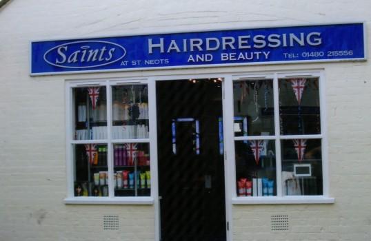 Queens Jubilee Decorations June 2012 – Saints hairdressing in Cross Keys Mews (Ann Richards)