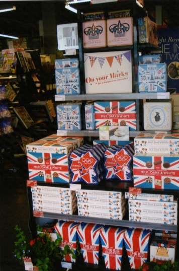 Queens Jubilee Decorations June 2012 – M & S entrance in the High Street (Ann Richards)