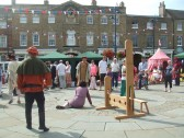 Mediaeval Fayre, St Neots Market Square - 27th July 2013