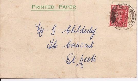 st mary's fc 1949