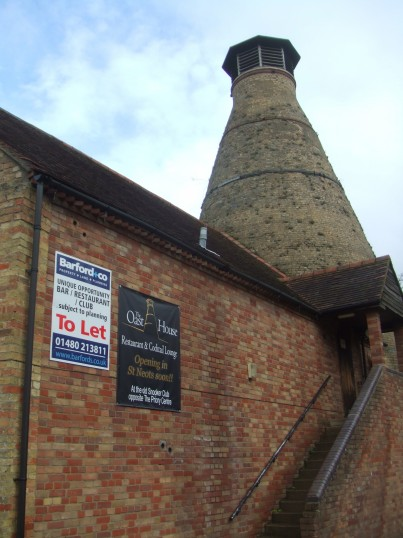 Oast House - To Let sign - A unique opportunity - Feb 18th 2014