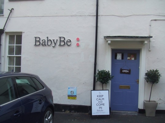 Baby Be - a new shop in Fishers Yard - 18th March 2014