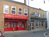 Careys Amusements and the former Allders Opticians in South Street - 18th March 2014