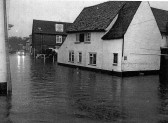 Flooding in Eynesbury, near the Chequers Public House - August - September 2004