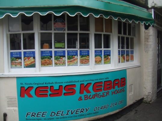 Keys Kebab takeaway in Cross Keys Mews - 18th March 2014