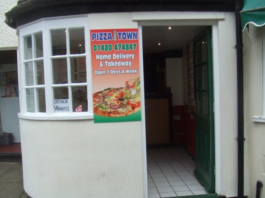Pizza Town Takeaway in Cross Keys Mews - 18th March 2014