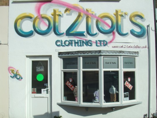 Cot2Tots Sale - photograph taken 23rd March 2014