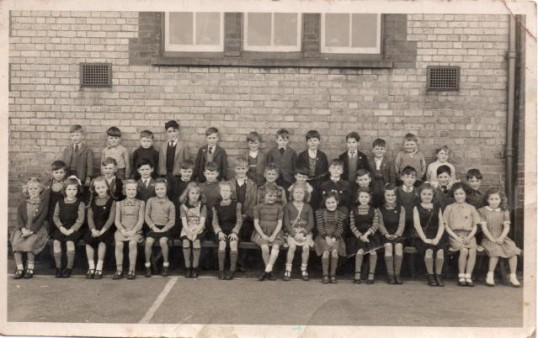 Eaton Socon School - a class about 1948