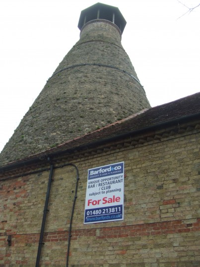 The oast house development is now up for sale - 11th March 2014