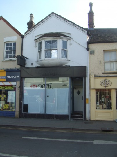 The former Raj Douth Indian Restaurant in St Neots High Street looks empty - 12th March 2014