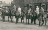 Horse Sunday in St Neots, 19th September 1953, standing in the Market Square