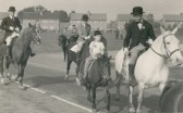 Horse Sunday in St Neots, 19th September 1953 - assembling at the common
