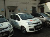 Lovett Estate Agents - two of their cars, 19th October 2013