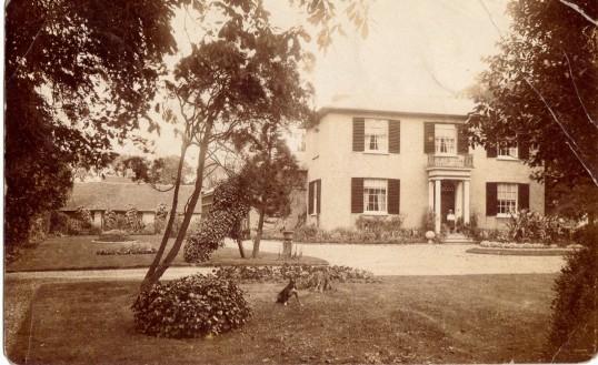 Waterloo House, Eynesbury, around 1901-1909