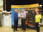St Neots Beer Festival Award - Club of the Year 2014 - Yelling Village Club