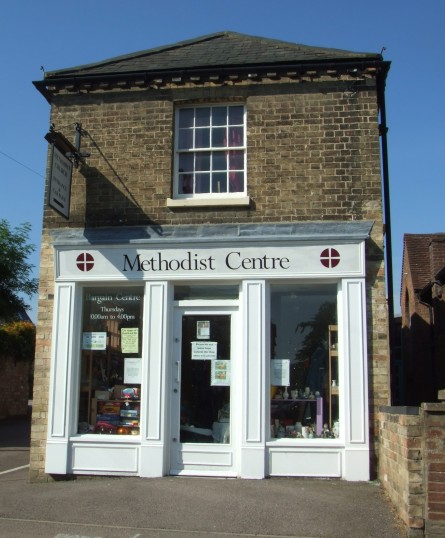 Methodist Centre in Eynesbury, open on Market Days - a great place for a bargain - 5th June 2014