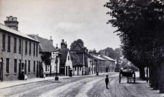 Huntingdon Street, St Neots, around 1910