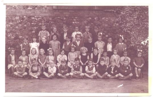 Eynesbury School group in the 1940s