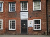 Chanceuse Lingerie shop with its new signage, on St Neots Market Square - 16th June 2014
