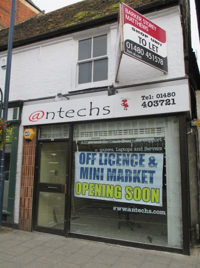 Off licence etc - July 10th 2014