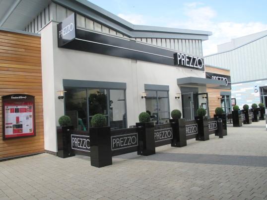 Prezzo Restaurant near the new cinema - June 26th 2014