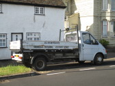RJ Humphreys builders lorry in Eaton Ford - 3rd July 2014
