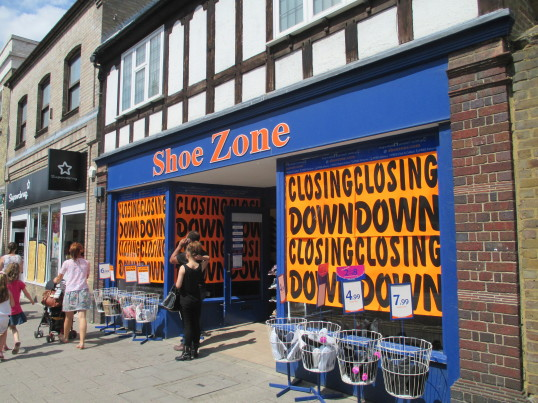 Shoe Zone - 29th July 2014