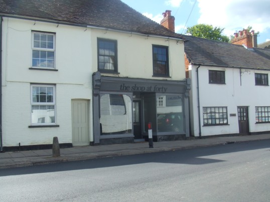 The Shop at Forty in St Marys Street, Eynesbury - 10th June 2014