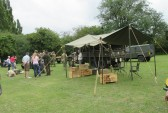 Army vehicles at the Armed Forces Day gala event on Regatta Meadow - 5th July 2014