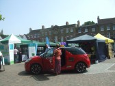 Business Fayre on St Neots Market Square - 12th July 2013