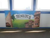 Murals at the Railway Station - June 22nd 2014