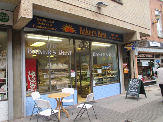 Bakers Best Bakery shop in Moores Walk - 17th September 2014