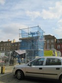 Day Column - the new arms are fitted - 9th September 2014