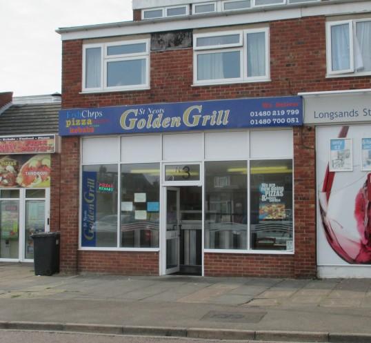 Golden Grill Takeaway in Longsands Road, St Neots - 21st September 2014