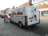 Shakie Jakes van outside the cafe in St Neots High Street, 16th Sep 2014
