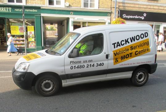 Tackwood van - 16th September 2014
