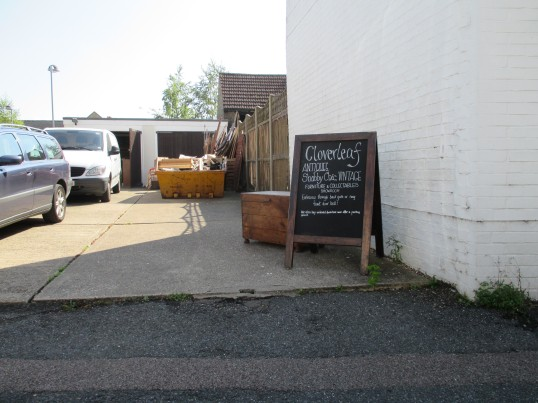 Cloverleaf Antiques in Montagu Street, Eynesbury - September 1st 2014