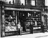 Carter's shop, near The New Inn, High Street about 1900
