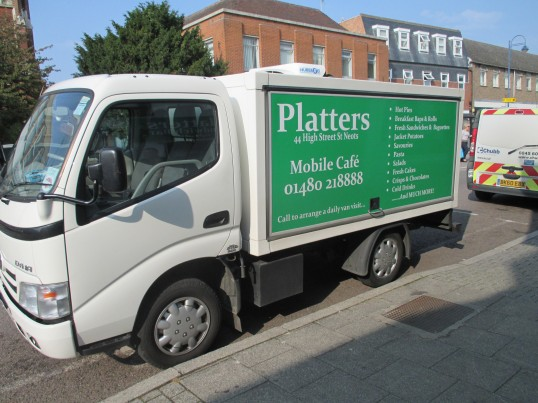 platters mobile cafe -16th Sep 2014