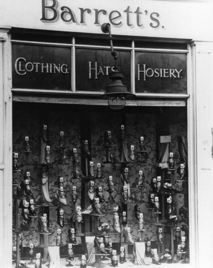 Barrett's Shop, St Neots, in the 1930s