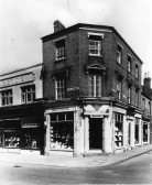 Barrett's shop, St Neots in the 1940s
