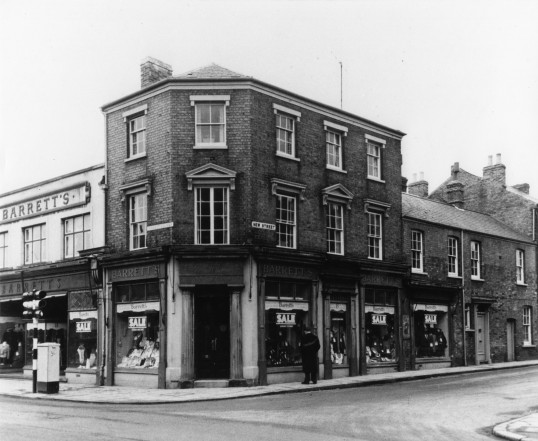 Barrett's shop, St Neots, in the 1950s