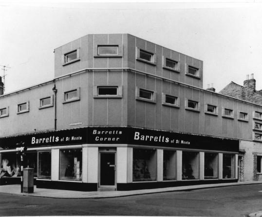 Barrett's of St Neots in 1966