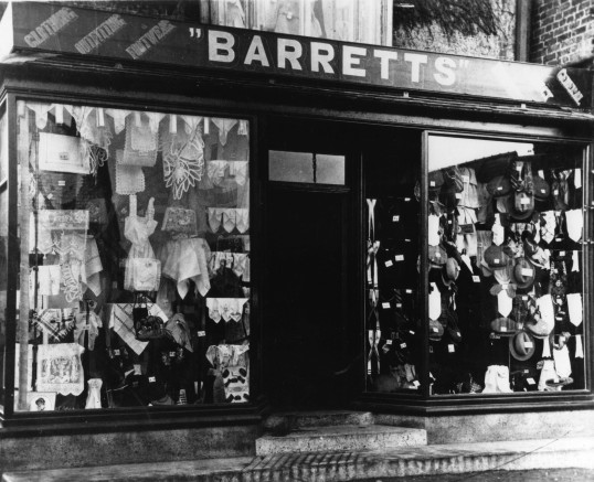 Barretts at Buckden 1928