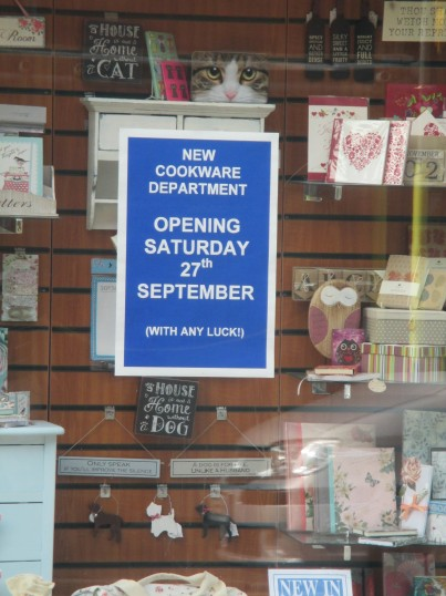 Barretts shop, St Neots - 27th September 2014