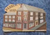 Barrett's shop, St Neots, in 1889