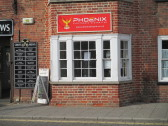 Phoenix - the new name for the i Vapo shop in the former Cross Keys Coaching Inn - 4th October 2014