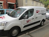 Chef's Table van in New Street, St Neots, 10th Oct 2014