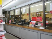 Eaton Socon Post Office - the counter before it was altered in October 2014